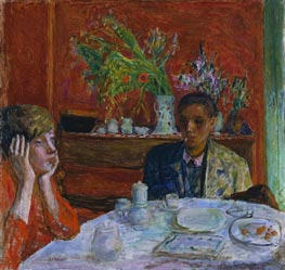 The Dessert (After Dinner), c.1920 by Pierre Bonnard | Painting Reproduction