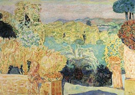 Landscape Southern France, c.1916/18 by Pierre Bonnard | Painting Reproduction