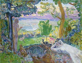 Earthly Paradise, 1920 by Pierre Bonnard | Painting Reproduction