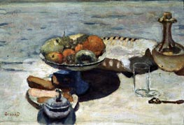 Table Laid for Dessert, c.1924 by Pierre Bonnard | Painting Reproduction