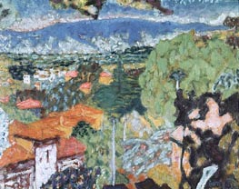 Landscape, undated by Pierre Bonnard | Painting Reproduction