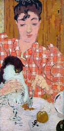 The Checkered Blouse, 1892 by Pierre Bonnard | Painting Reproduction