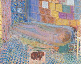 Nude in Bathtub, c.1940/46 by Pierre Bonnard | Painting Reproduction