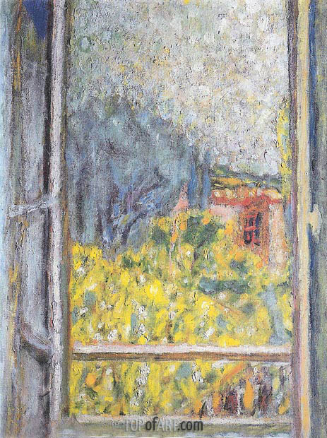 The Small Window (La Petite fenetre), 1946 | Pierre Bonnard | Painting Reproduction