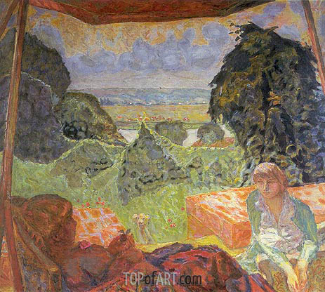Summer in Normandy, c.1912 | Pierre Bonnard | Painting Reproduction