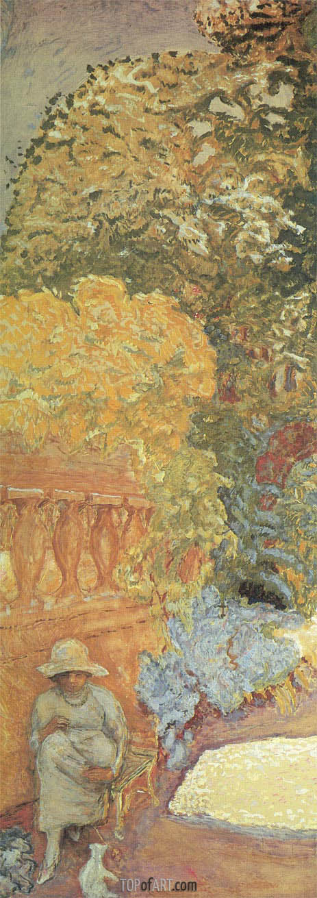 The Mediterranean. Triptych - Left Part, 1911 | Pierre Bonnard | Gemälde Reproduktion