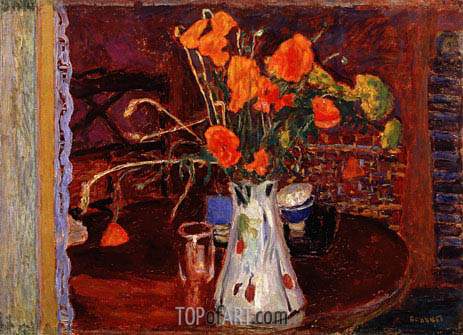 Wild Flowers, 1920 | Pierre Bonnard | Painting Reproduction