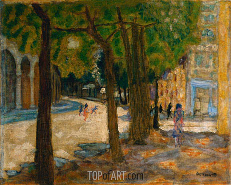Boulevard Exelmans, Paris, 1925 | Pierre Bonnard | Painting Reproduction