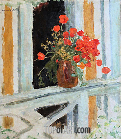 The Poppies, 1912 | Pierre Bonnard | Painting Reproduction