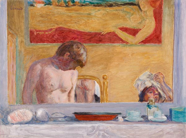 Young Woman at Her Toilette, 1916   Pierre Bonnard   Painting Reproduction