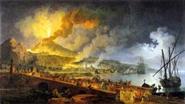 Eruption of Vesuvius in 1771, 1779 von Pierre Jacques Volaire | Gemälde-Reproduktion