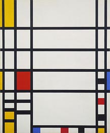 Trafalgar Square | Mondrian | Painting Reproduction