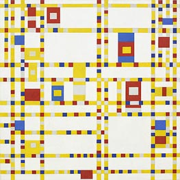 Broadway Boogie Woogie | Mondrian | Painting Reproduction
