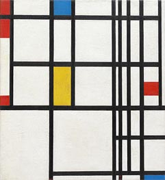 Composition in Red, Blue and Yellow | Mondrian | Painting Reproduction
