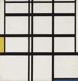 Composition in Yellow, Blue and White, I | Mondrian | Painting Reproduction