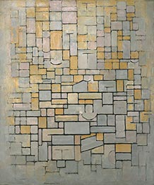 Composition, 1914 by Mondrian | Painting Reproduction