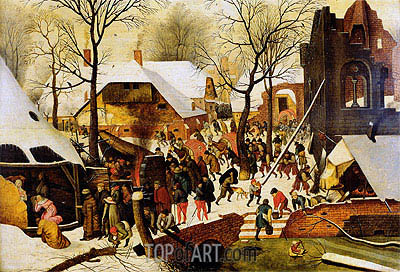 The Adoration of the Magi, Undated | Pieter Bruegel the Younger | Painting Reproduction