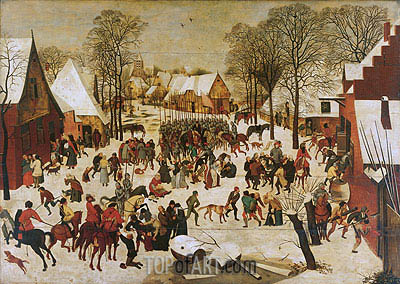 Massacre of the Innocents, a.1566 | Pieter Bruegel the Younger | Gemälde Reproduktion