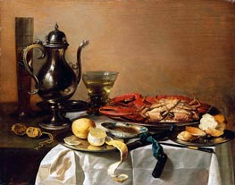Still Life, 1643 by Pieter Claesz | Painting Reproduction