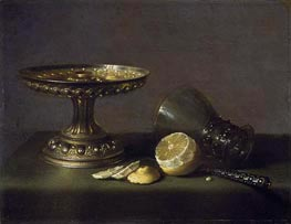 Still Life, 1630 by Pieter Claesz | Painting Reproduction