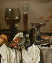 Still Life with Drinking Vessels | Pieter Claesz | Gemälde Reproduktion
