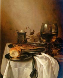 A Still Life of a Roamer | Pieter Claesz | Painting Reproduction