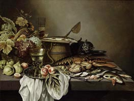 Stil Life | Pieter Claesz | Painting Reproduction