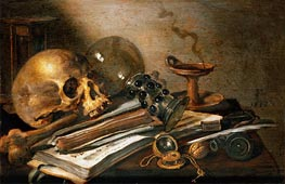 Vanitas Still-Life | Pieter Claesz | Painting Reproduction