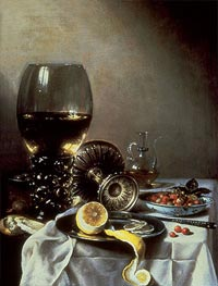 Still Life | Pieter Claesz | Painting Reproduction