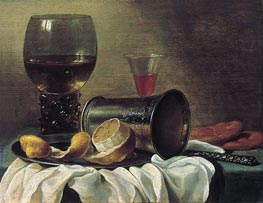 Still Life with Rummer | Pieter Claesz | Painting Reproduction