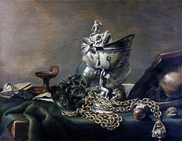 Vanitas Still Life | Pieter Claesz | Painting Reproduction