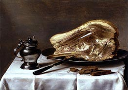 Still Life, c.1635 by Pieter Claesz | Painting Reproduction