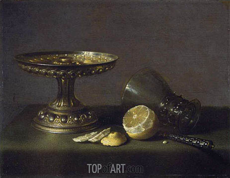 Still Life, 1630 | Pieter Claesz | Painting Reproduction