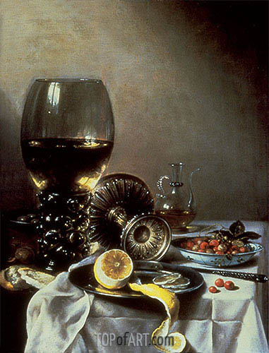Still Life, 1638 | Pieter Claesz | Painting Reproduction