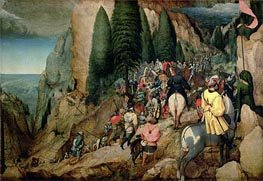 The Conversion of Saul, 1567 von Bruegel the Elder | Gemälde-Reproduktion