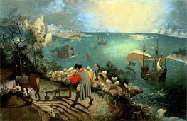 Landscape with the Fall of Icarus | Bruegel the Elder | Painting Reproduction