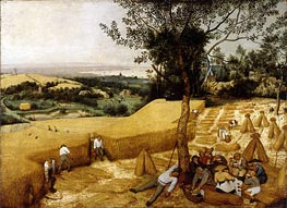 The Harvesters, 1565 von Bruegel the Elder | Gemälde-Reproduktion