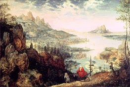 Landscape with the Flight into Egypt, 1563 von Bruegel the Elder | Gemälde-Reproduktion
