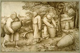 The Beekeepers, 1567 by Bruegel the Elder | Painting Reproduction