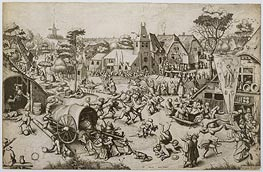 The Fair on St. George's Day, c.1559/60 by Bruegel the Elder | Painting Reproduction