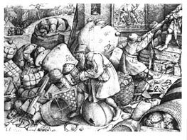 Everyman, Undated by Bruegel the Elder | Painting Reproduction