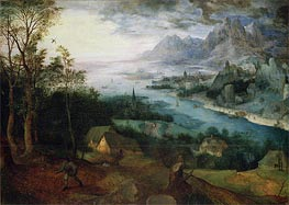The Parable of the Sower, 1557 by Bruegel the Elder | Painting Reproduction