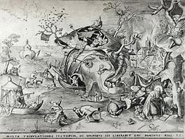 The Temptation of Saint Anthony, 1556 by Bruegel the Elder | Painting Reproduction