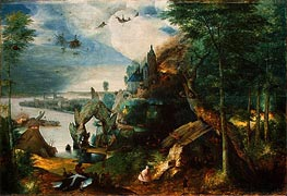 The Temptation of Saint Anthony, c.1550/75 by Bruegel the Elder | Painting Reproduction
