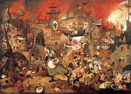 Dulle Griet (Mad Meg), 1564 by Bruegel the Elder | Painting Reproduction