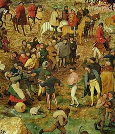 The Procession to Calvary (Detail) | Bruegel the Elder | Painting Reproduction