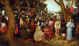 The Sermon of St. John the Baptist | Bruegel the Elder | Painting Reproduction