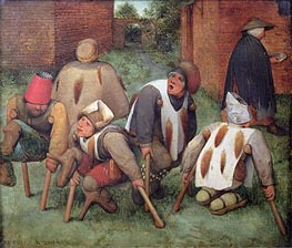 The Beggars | Bruegel the Elder | Painting Reproduction