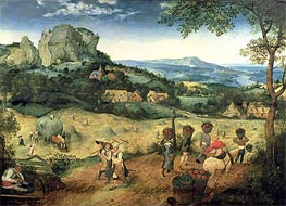 Haymaking | Bruegel the Elder | Painting Reproduction
