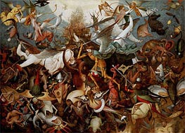 The Fall of the Rebel Angels | Bruegel the Elder | Painting Reproduction